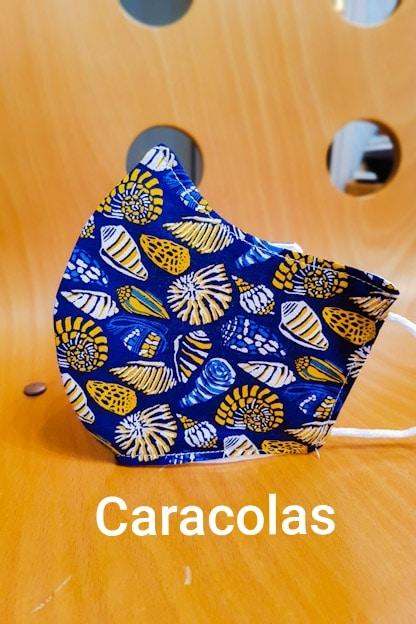 mascarilla Caracolas