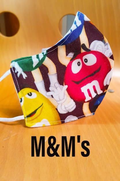 mascarilla M&M's
