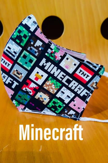mascarilla Minecraft