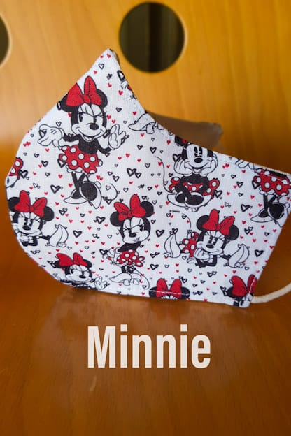 mascarilla Minnie
