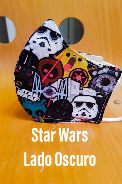 mascarilla Star Wars Lado Oscuro