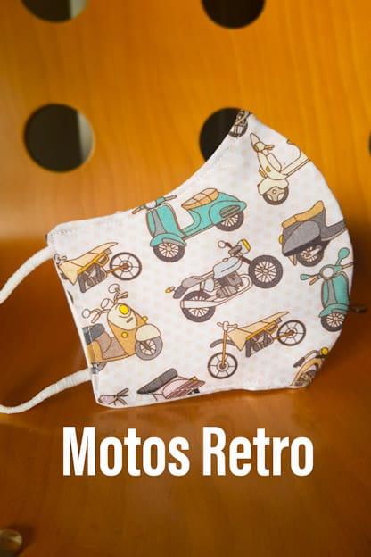 mascarilla Motos Retro