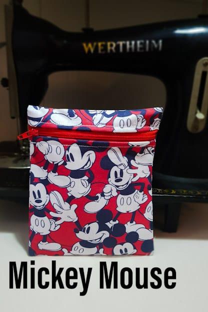 porta mascarillas Mickey Mouse