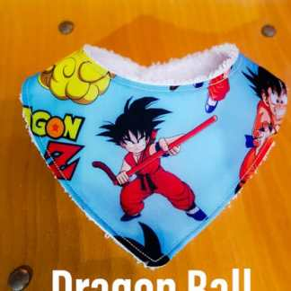 Bandana babero bebe Dragon Ball