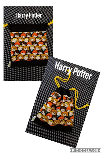bolsa infantil Harry Potter