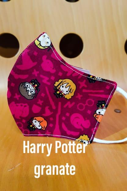 mascarilla Harry Potter granate