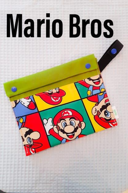 Porta bocadillos Mario Bros