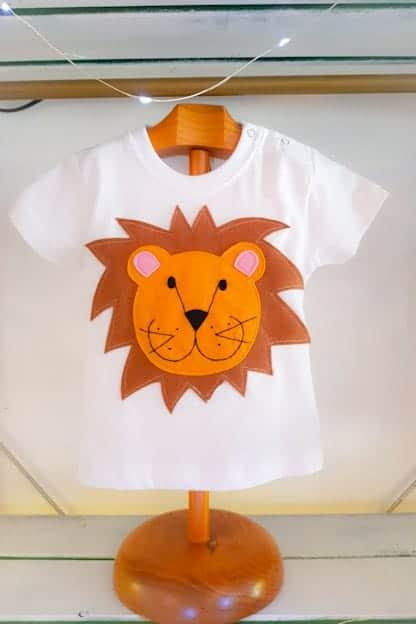 camiseta infantil de Leon