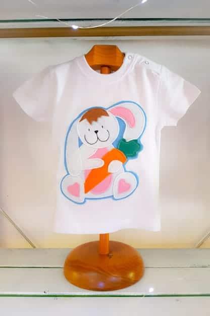 camiseta infantil Conejito