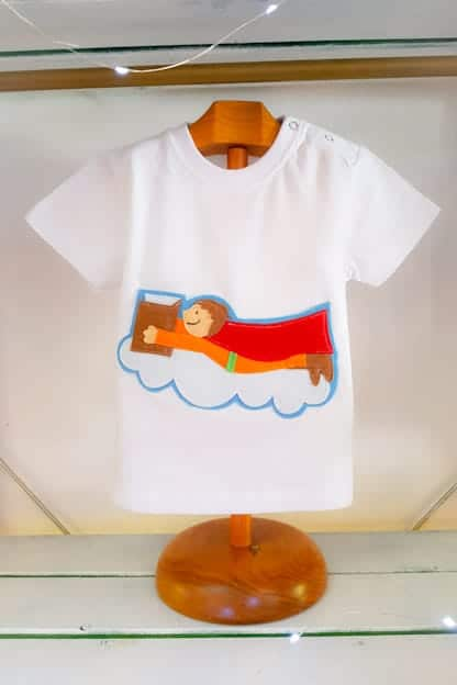 camiseta infantil super heroe 2
