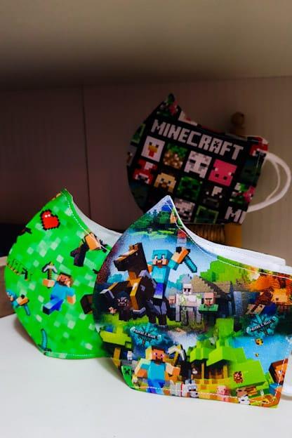 Mascarillas  Minecraft