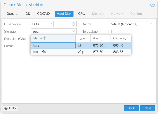 Create a new VM from KVM disk in Proxmox TienLes Blog