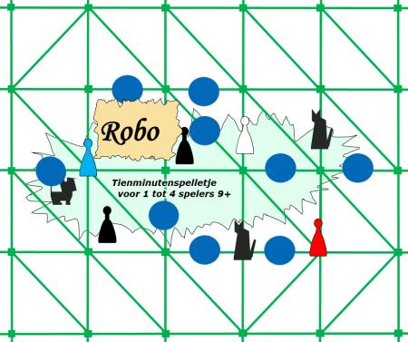 Bordspellen: Robo - etiket