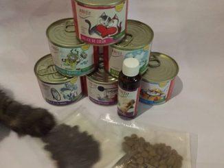 Anifit Katzenfutter mit Katzenpfote