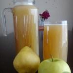 Apfel-Birne-Drink