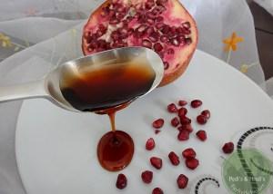 Granatapfel-Essigsirup