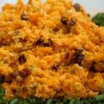 Karotten-Sesam-Rohkostsalat
