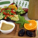 Orangen-Dattel-Vinaigrette (Salatsoße auf Vorrat)