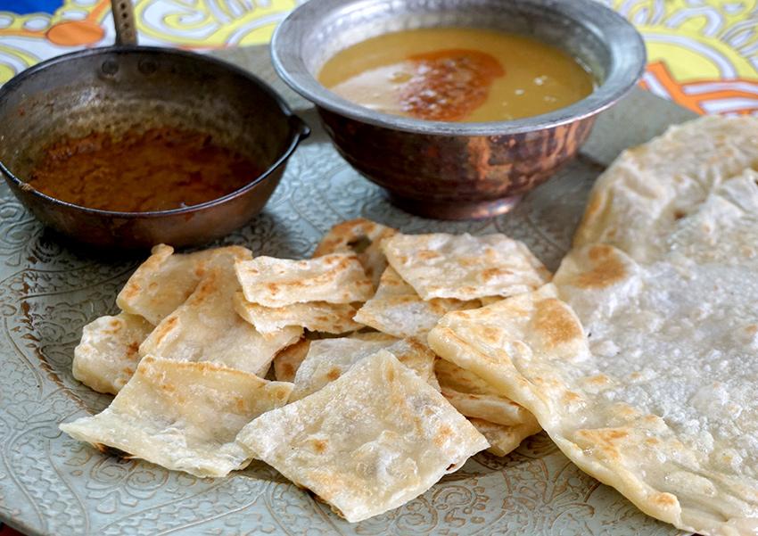 Indische Roti - Fladen aus der Pfanne