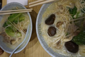 Chinese Noodlesoup vegan