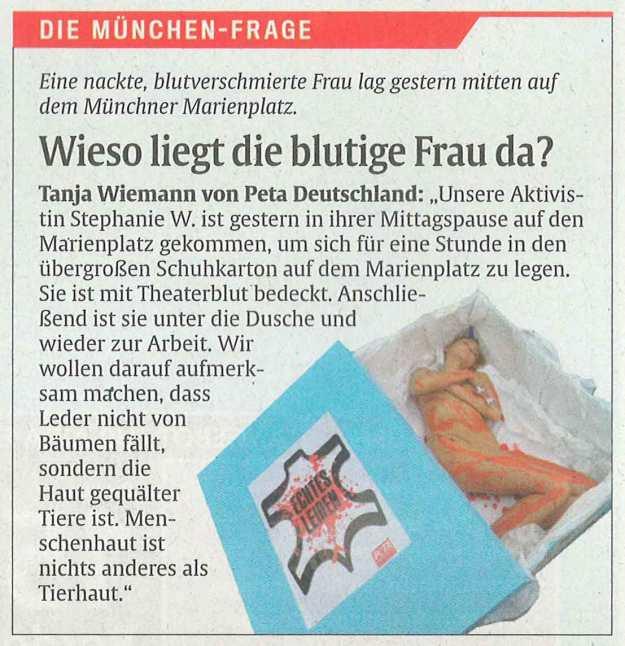 Abendzeitung, Stephanie Weiser, T!erLaut