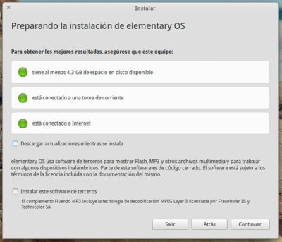 Requisitos Elementary OS