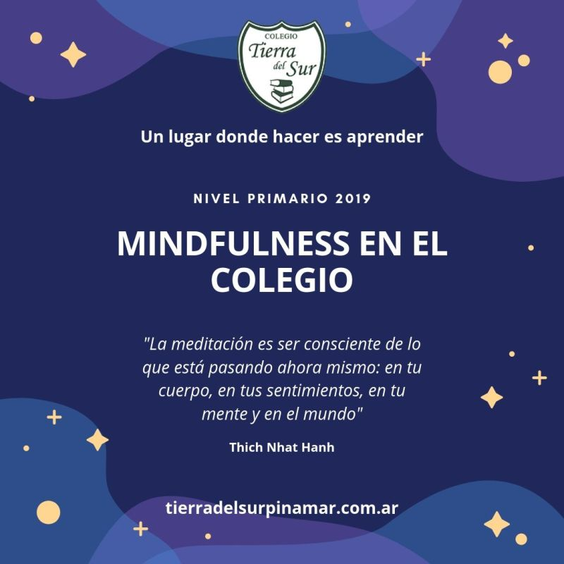 Capacitación en meditación mindfulness-Nivel-Primario- Colegio Tierrra del Sur