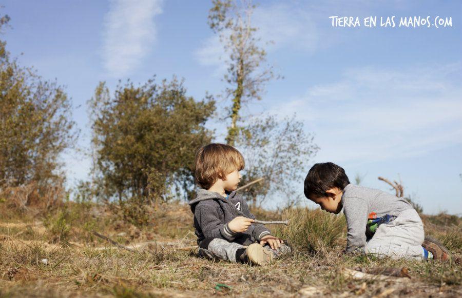 naturaleza beneficia conducta niños