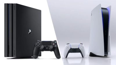 So you can improve your PS4 games to play on PS5