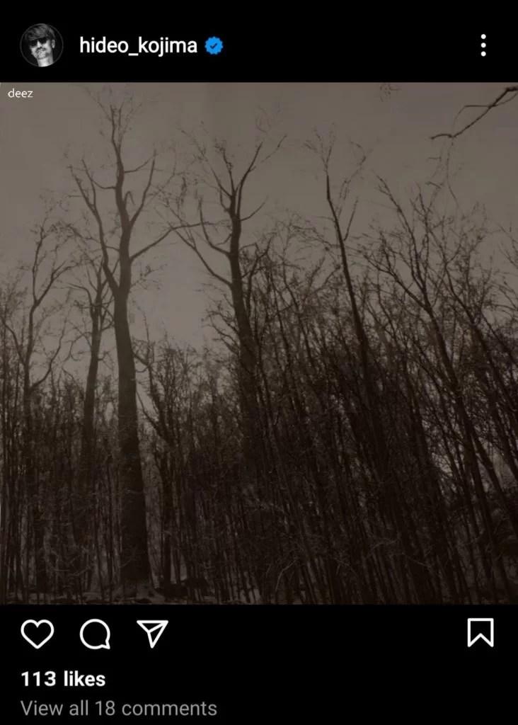 Silent Hill Hideo Kojima