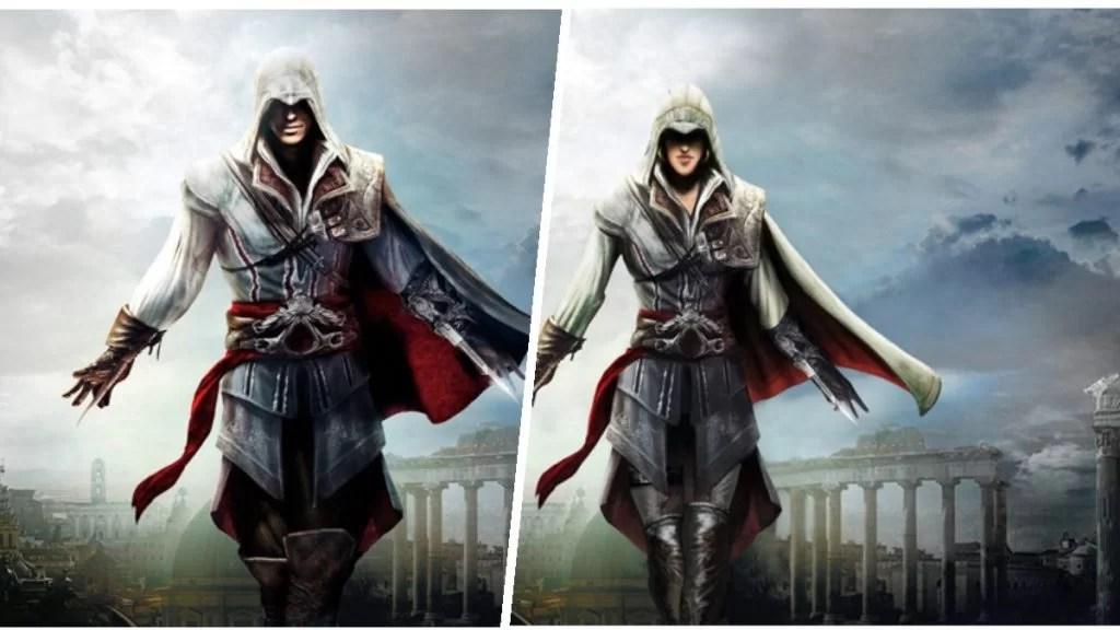 female protagonist videogame assassins creed
