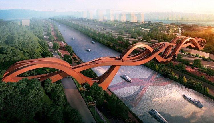 Maravillosos puente será construido en China