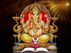 Diosa hindú rodea la tierra en la estación espacial