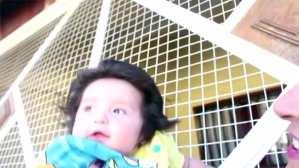 Para pelos en la cabeza ¡no hay como este bebé!
