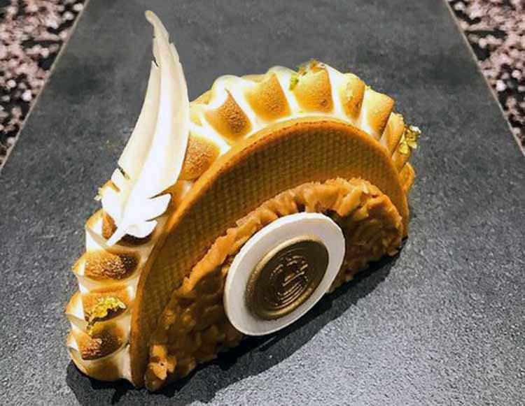 Arquitecto del chocolate de pastelería en Las Vegas