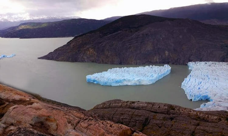 Un Iceberg en la Patagonia intriga a los científicos