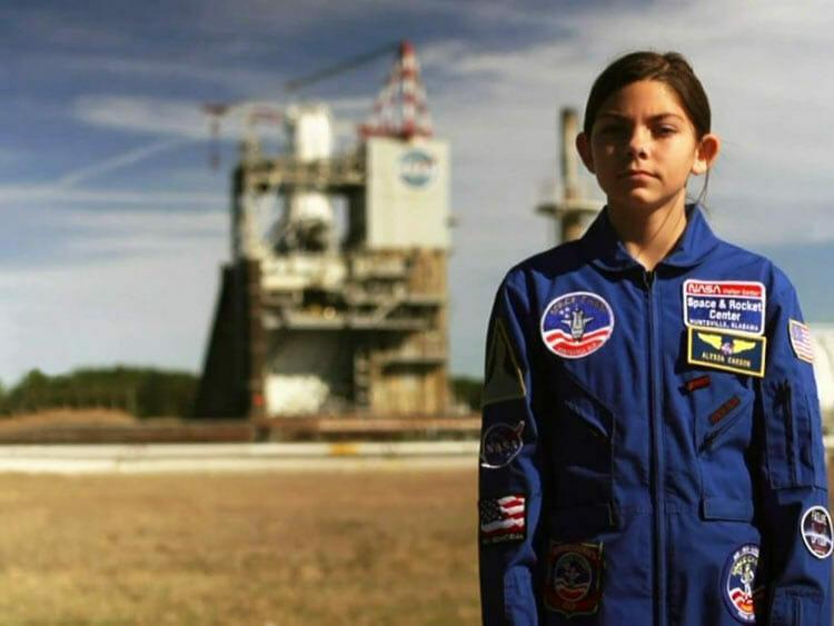 NASA prepara chica de 17 años que quiere ir a Marte