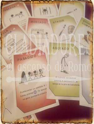 Cartas originales Ludi Gladiatorii - Juegos de Mesa