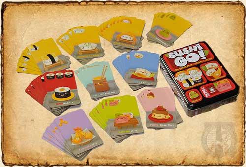 Juegos de Mesa - Sushi Go!