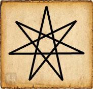 Símbolo Elven - Estrella de las hadas