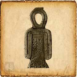 Nudo Isis - Símbolo egipcio