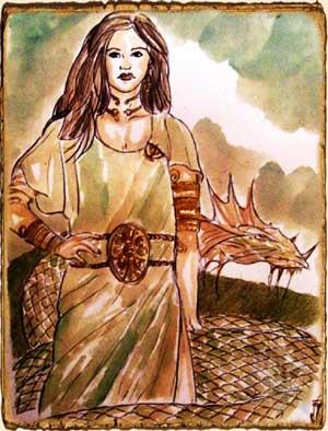 Mitología asturiana - Xana