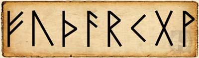 Fehu Alfabeto Rúnico Futhark