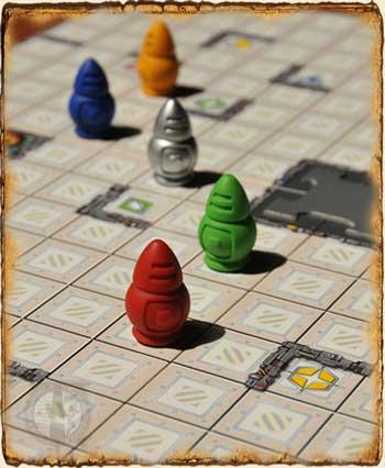 Tablero Ricochet Robots - Juegos de Mesa