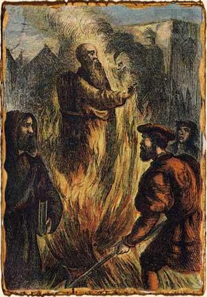 Relatos de Fantasía - Hombre ardiendo