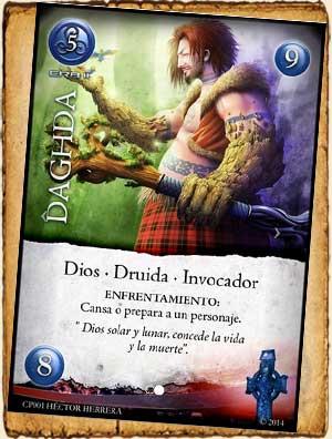 Daghda en Guerra de Mitos - Mitología Celta