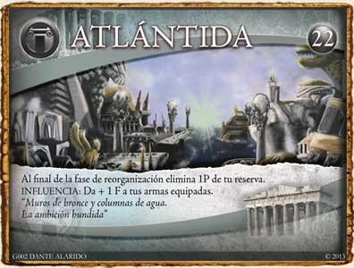 Mitología Griega - Atlántida en Guerra de Mitos