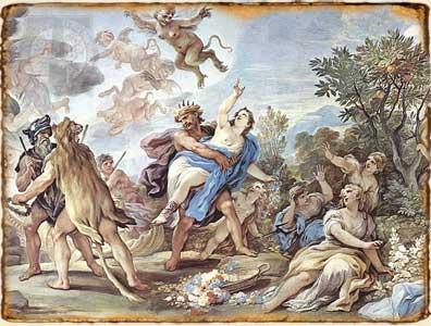 Mitología Griega - Rapto de Perséfone por Hades