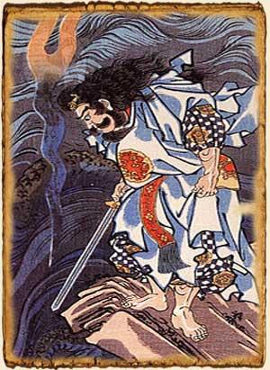 Mitología japonesa - Susanoo - Dragón