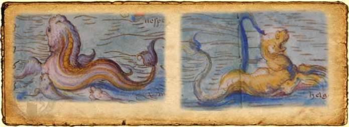 Monstruos de Battista Agnese
